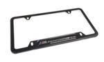 M Performance Steel License Plate - Black - BMW (82-12-5-A1C-494)