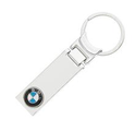 BMW Silver Chrome Logo Key Chain Ring