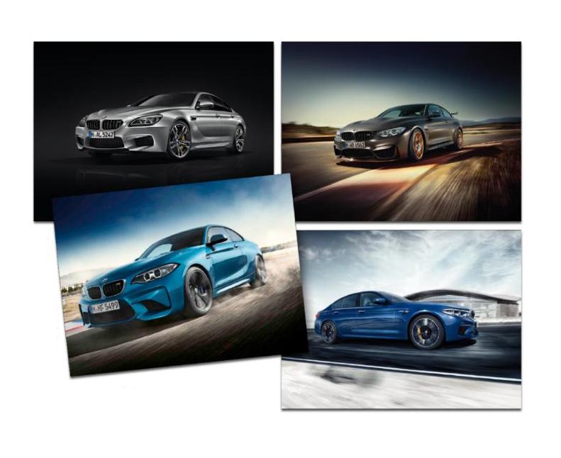 M Poster Set - BMW (80-28-2-454-748)