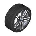 "F16 X6 19"" Style 623M Ferric Grey Winter Wheel/Tire - 9x19 ET:48"