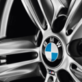 Wheel Center Cap with Emblem & Chrome Ring - G Series+ - BMW (36-13-6-850-834)