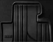 F32/33/36 4 Series, F82/83 M4 All Weather Floor Mats, Front - Basic Line (Black) - BMW (51-47-2-348-155)