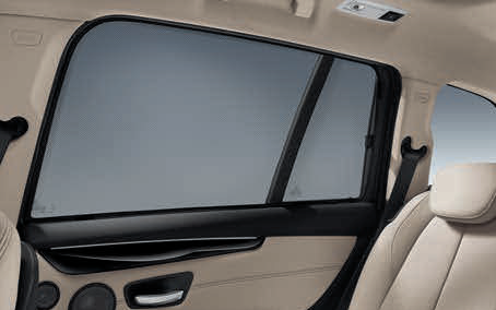 F10 5 Series Rear Side Window Sun Shade Set - BMW (51-46-2-154-684)