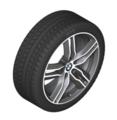 """F48 X1, F39 X2 18"""" Style 570M Ferric Grey Winter Wheel/Tire - 7.5x18"""