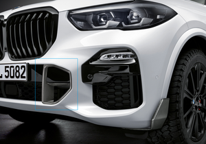 ​G05 X5 M Performance Carbon Fiber Brake Air Inlet Cover - Right - BMW (51-11-2-455-498)