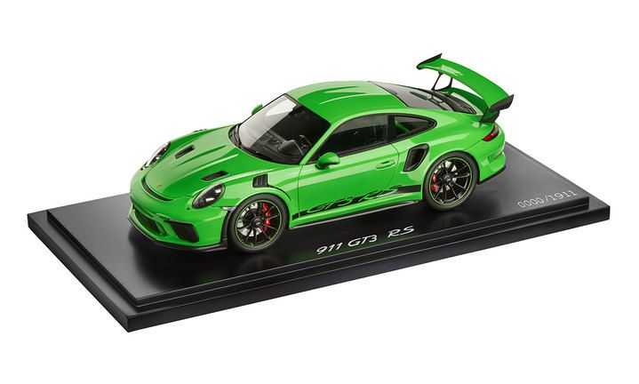 911 GT3 RS, 1:18, lizard green, Limited Edition Model Car