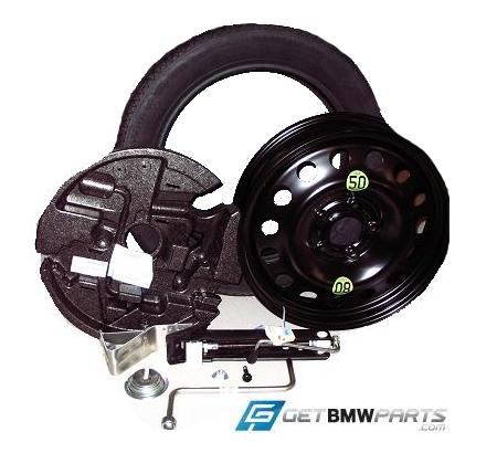 Getbmwparts Com Genuine Bmw E70 71 X5 X6 Spare Tire Kits