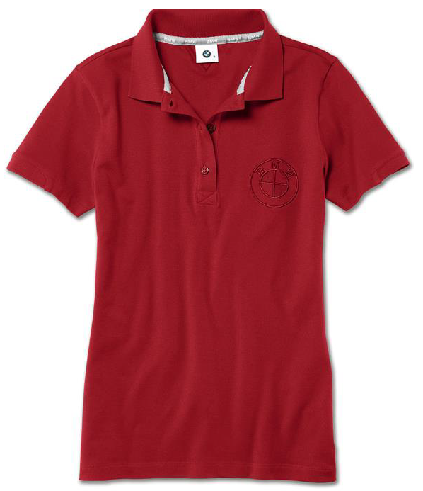 Ladies' BMW Polo Shirt - Red