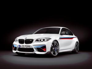F87 M2 M Performance Motorsport Stripes Decal Set - BMW (51-14-2-410-573)