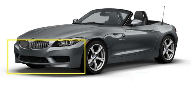E89 Z4 M Sport Front Aerodynamic Kit - BMW (PKE89Z4MSPORTF)