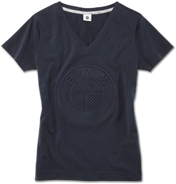 Ladies' BMW T-Shirt - Dark Blue