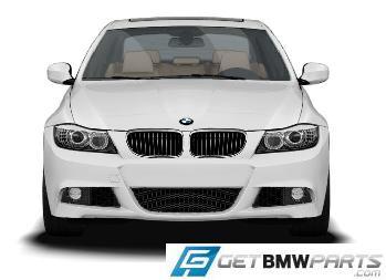 E90 LCI 3 Series M Sport Front Aerodynamic Retrofit Kit - BMW (PKE90LCIMSPORTFRONT)