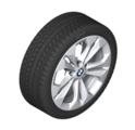 "F48 X1, F39 X2 17"" Style 564 Silver Winter Wheel/Tire - 7.5x17"