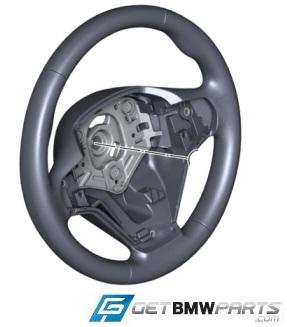 F25 X3, F26 X4 M Sport Steering Wheel - BMW (32-30-7-845-805)