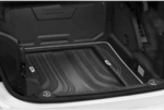 F22 2 Series, F87 M2 Fitted Luggage Compartment Mat - Coupe - Modern Line (Black/Oyster)