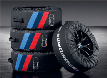 M Performance Tire Bags - BMW (36-13-2-461-758)