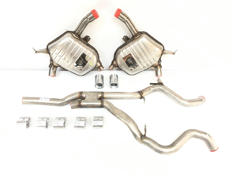 E90 335i/xi Sedan M Performance Exhaust - N54 Engine