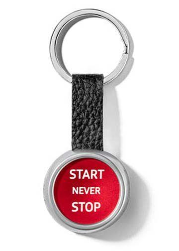Audi Sport Start/Stop Keyring - Audi (ACM-897-9)