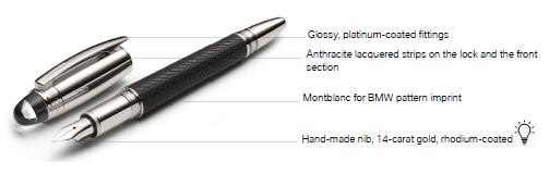 MONTBLANC for BMW Fountain Pen - BMW (80-24-2-450-919)