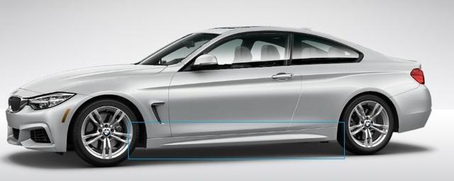 F32/33/36 4 Series M Sport Aerodynamic Rocker Panel Retrofit Kit - BMW (PKF32MSPORTSIDES)