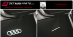LED Puddle Lights Set - Four Rings - Audi (4G0-052-130-G)