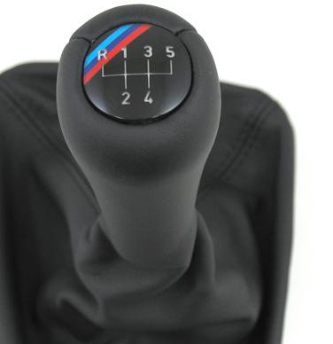 E30 3 Series Illumanted Mtech Shift Knob w/ Boot - BMW (25-11-2-231-562)