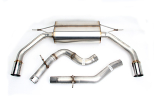 Dinan Free Flow Exhaust with Polished Tips for Audi A3 2.0L (8V) - Dinan (D660-0066)