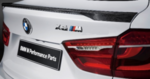 F16 X6 M Performance Carbon Fiber Rear Spoiler