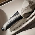 F2x 2 Series, F3x 3 & 4 Series Leather Handbrake Grip - Modern Line (Black/Beige) - BMW (34-40-2-240-182)