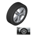 F22/23 2 Series Double Spoke Style 385 Winter Wheel/Tire Assembly - from 3/14 and on