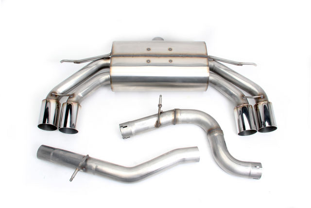 Dinan Free Flow Exhaust with Polished Tips for VW Golf R (Mk7) - DINAN (D660-0065)