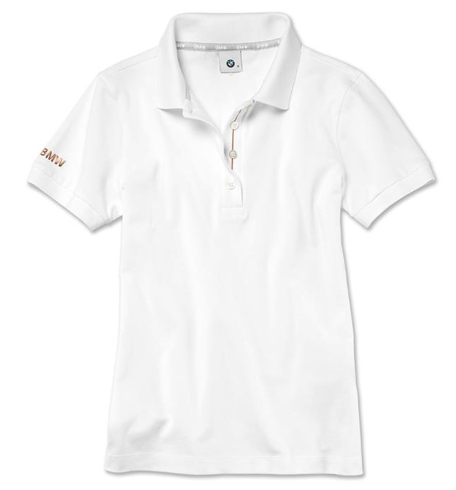 Ladies' BMW Polo Shirt - White