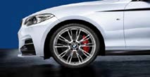 "F22/23 2 Series M Performance 19"" Style 624M Polished Wheel/Tire Set - vehicles 3/2014 and on"