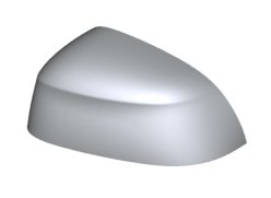 Mirror Cover Cap Cerium Grey - Left - BMW (51-16-7-466-195)