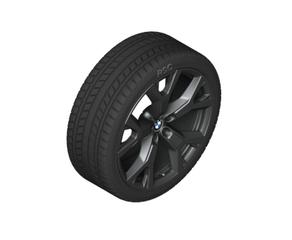 "21"" Style 752 Y-Spoke Light Alloy Wheel, Jet Black - 9,5Jx21 ET:36 - BMW (36-11-6-885-461)"