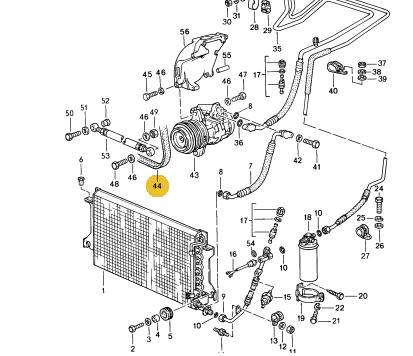 Poly-Rib Belt - K 6 - 1000 LW - Porsche (999-192-299-51)