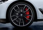 "G30 5 Series M Performance 20"" Style 669M Black Bi-Color Wheel/Tire Set"