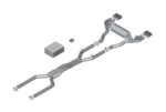 F90 M5 M Performance Titanium Exhaust System - BMW (18-30-2-455-574)