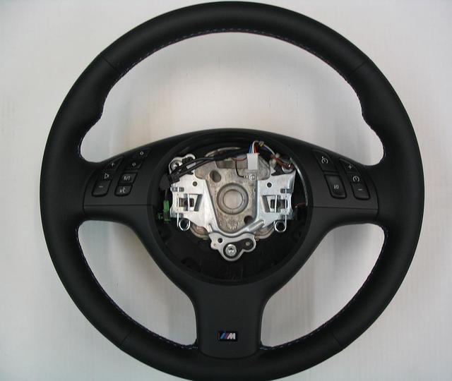 E46 M3 Competition Package Alcantara Steering Wheel - SMG Paddle Shifters - BMW (32-34-2-282-502)