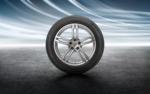 """95B-2 Macan Gen 2 (2019+) 19"""" Macan Sport Silver Winter Wheel/Tire Set - Porsche (95B-044-641-C)"""