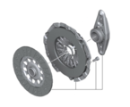 Set Clutch Parts - D=240MM