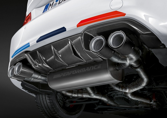 F87 M2C LCI M Performance Exhaust System