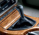 Black Leather Shift Knob - 5 spd - BMW (25-11-7-500-299)