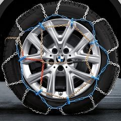 Snow Chains Set - 365/50R19 and 275/45R20. - BMW (36-11-2-407-484)