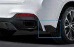 F16 X6 M Performance Rear Aero Bumper Flap - Left