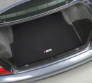 E46 M3 Embroidered Carpet Trunk Mat