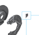 G30 5 Series, G11/12 7 Series M Performance Brake Kit Design Clip