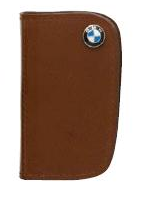 BMW Leather Key Case - Brown