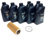 E90 LCI 335d Oil Change Kit