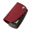 BMW Leather Key Case - Red